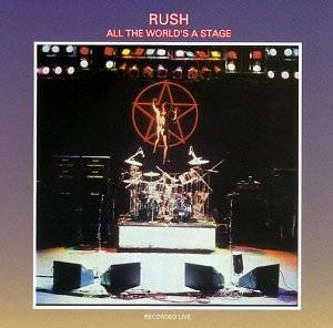 Rush: All The World's A Stage - Cover