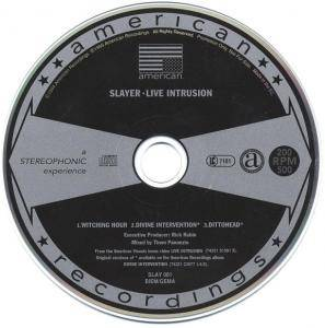 Slayer: Live Intrusion - Selections From The First Home Video Ever (Promo-Single-CD) - Bild 3