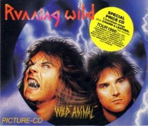 Running Wild: Wild Animal (Mini-CD / EP) - Bild 1