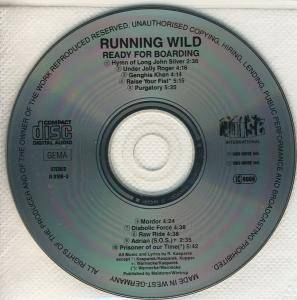 Running Wild: Ready For Boarding (CD) - Bild 4