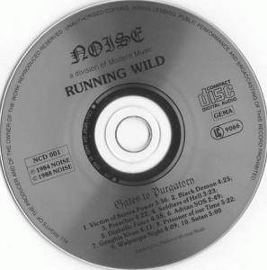 Running Wild: Gates To Purgatory (CD) - Bild 3