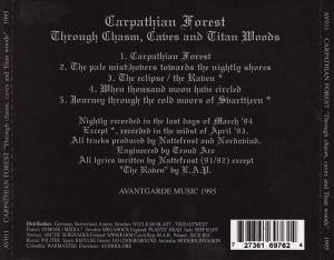 Carpathian Forest: Through Chasm, Caves And Titan Woods (Mini-CD / EP) - Bild 2