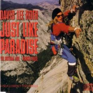 David Lee Roth: Just Like Paradise - Cover