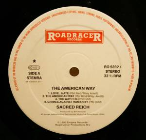 Sacred Reich: The American Way (LP) - Bild 3