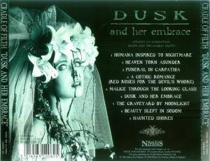 Cradle Of Filth: Dusk... And Her Embrace (CD) - Bild 2