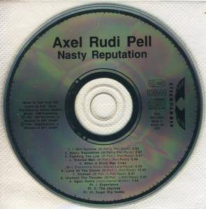 Axel Rudi Pell: Nasty Reputation (CD) - Bild 4