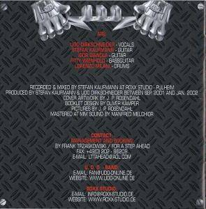 U.D.O.: Man And Machine (CD) - Bild 4
