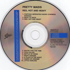 Pretty Maids: Red, Hot And Heavy (CD) - Bild 4