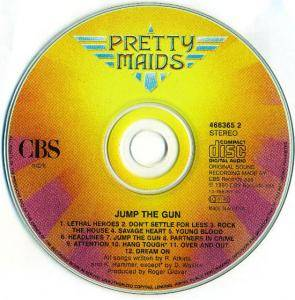 Pretty Maids: Jump The Gun (CD) - Bild 3