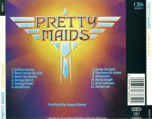 Pretty Maids: Jump The Gun (CD) - Bild 4