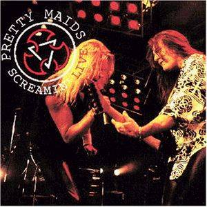 Pretty Maids: Screamin' Live - Cover