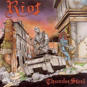 Cover - Riot: Thundersteel