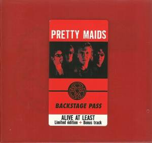 Pretty Maids: Alive At Least - Cover