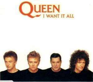 Queen: I Want It All - Cover