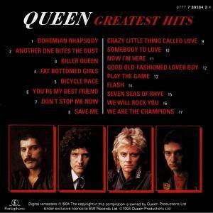 Queen: Greatest Hits (CD) - Bild 4