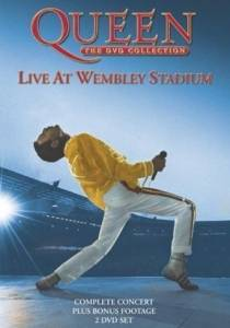 Queen: Live At Wembley Stadium - Cover