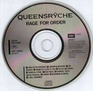 Queensrÿche: Rage For Order (CD) - Bild 4