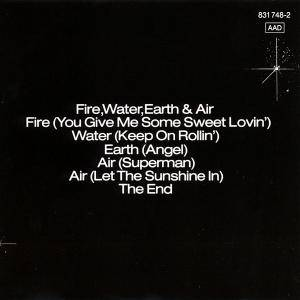 Jane: Fire, Water, Earth & Air (CD) - Bild 2