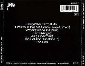 Jane: Fire, Water, Earth & Air (CD) - Bild 3