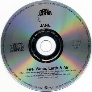 Jane: Fire, Water, Earth & Air (CD) - Bild 4