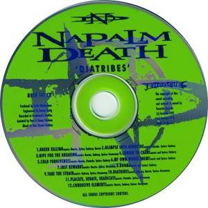 Napalm Death: Diatribes (CD) - Bild 3