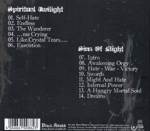 Hellsaw: Spiritual Twilight (CD) - Bild 2