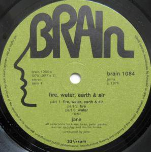 Jane: Fire, Water, Earth & Air (LP) - Bild 3