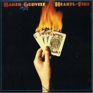 Baker Gurvitz Army: Hearts On Fire - Cover