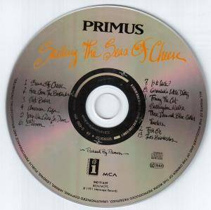 Primus: Sailing The Seas Of Cheese (CD) - Bild 3