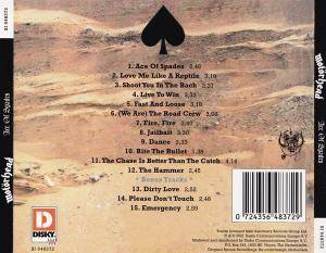 Motörhead: Ace Of Spades (CD) - Bild 2