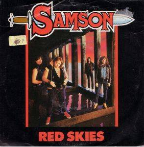 Samson: Red Skies - Cover