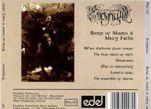 Empyrium: Songs Of Moors And Misty Fields (CD) - Bild 3