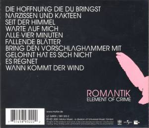 Element Of Crime: Romantik (CD) - Bild 3