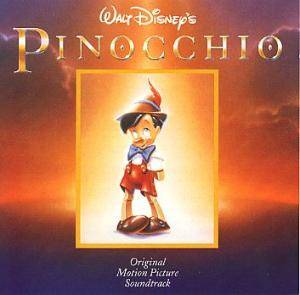 Ned Washington & Leigh Harline: Pinocchio - Cover