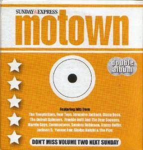 Motown Volume One - Motown Days / Volume Two - Motown Nights - Cover
