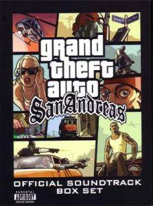 Grand Theft Auto: San Andreas Official Soundtrack Box Set - Cover