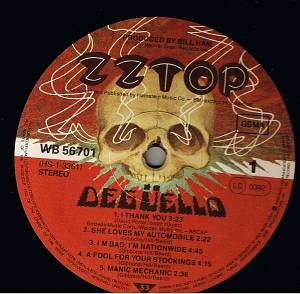 ZZ Top: Degüello (LP) - Bild 3