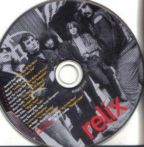 relix August 2008 - Cover