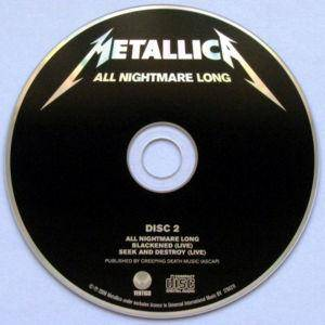Metallica: All Nightmare Long (Single-CD) - Bild 3
