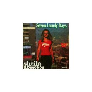 Sheila B. Devotion: Seven Lonely Days - Cover