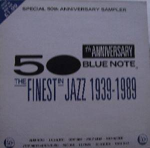 Cover - Stanley Jordan: 50th Anniversary Blue Note - The Finest In Jazz 1939-1989