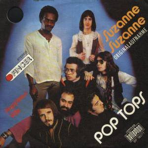 Cover - Pop Tops: Suzanne Suzanne