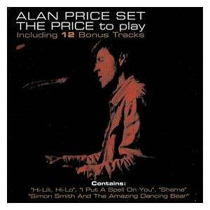 The Alan Price Set: Price To Play, The - Cover