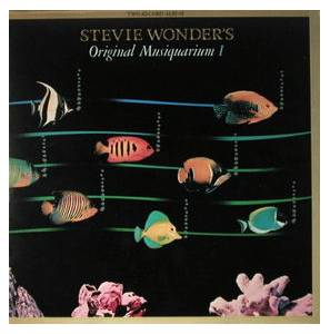 Stevie Wonder: Stevie Wonder's Original Musiquarium I - Cover