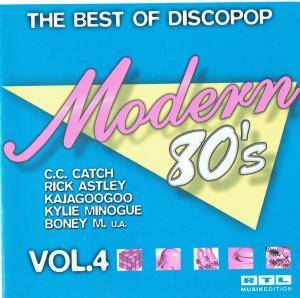 Modern 80's - The Best Of Discopop Vol. 4 - Cover