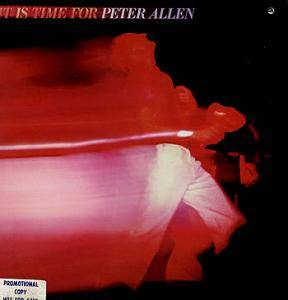 Cover - Peter Allen: It Is Time For Peter Allen