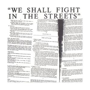 We Shall Fight In The Streets - Cover