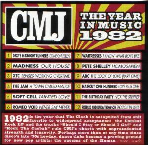 CMJ - The Year In Music 1982 - Cover