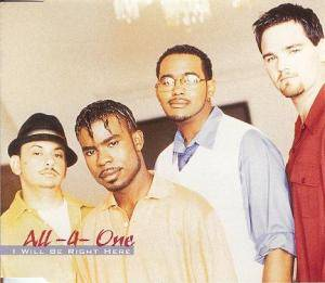 Cover - All-4-One: I Will Be Right Here