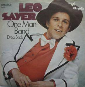Leo Sayer: One Man Band - Cover